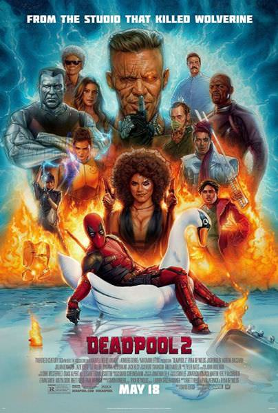 MOVIE & TV SERIES TODAY 720p 480p: Deadpool 2 (2018) 720p
