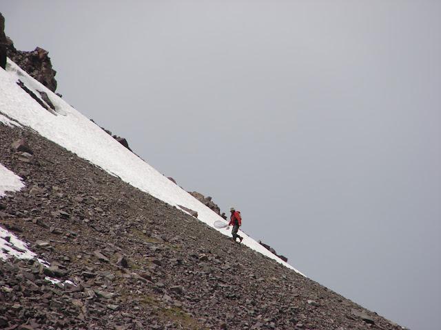 Alabel Pass, 3300 m (Kyrgyzistan), 27 juin 2006. Photo : E. Zinszner