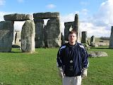 At Stonehenge... duh