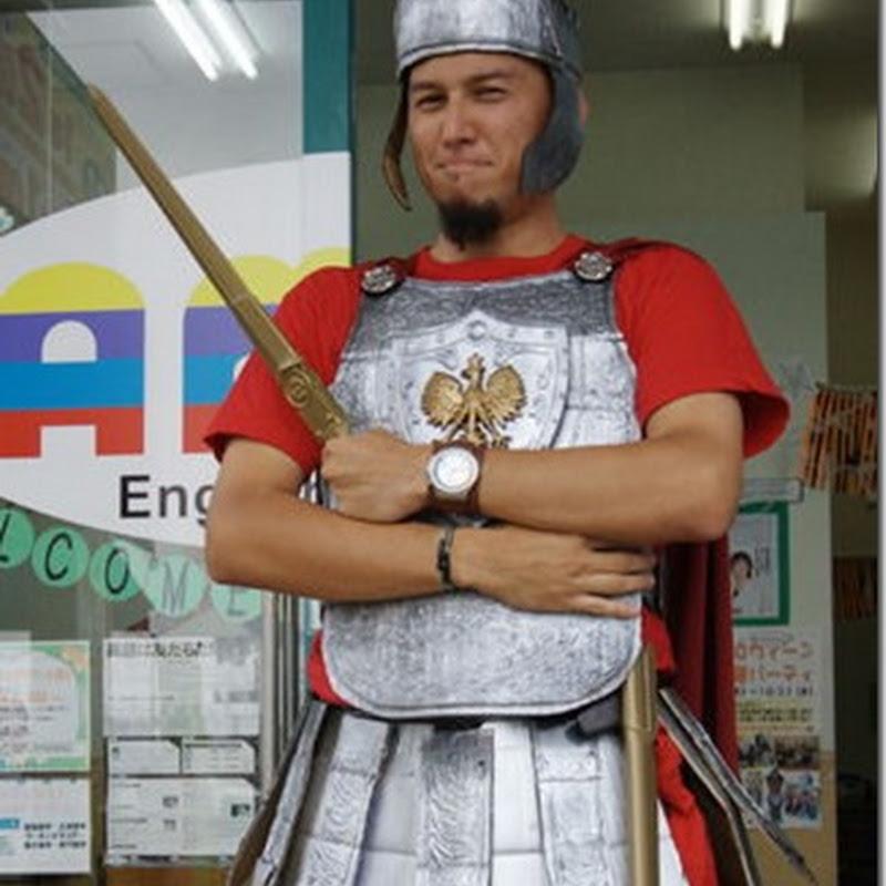 hacer un disfraz de soldado romano de cartón