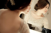 mirror bride fringe low