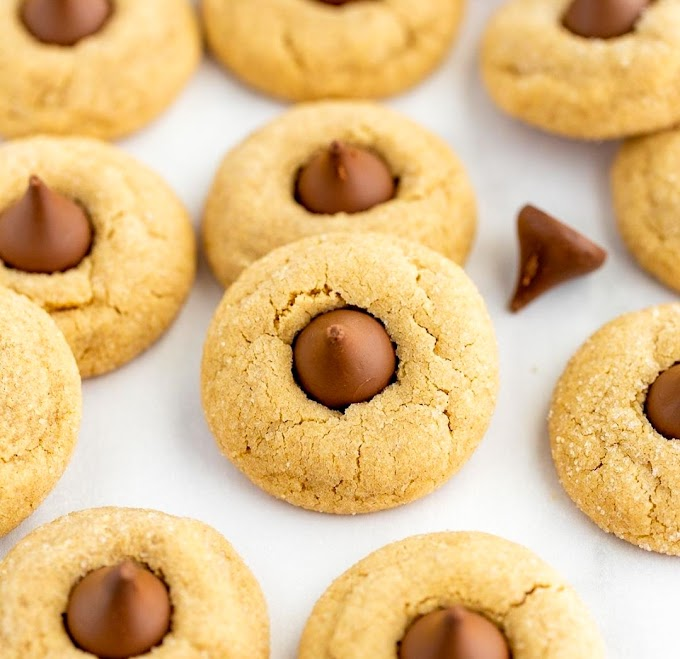 Peanut Butter Blossom Cookies Recipe | Breakfast Care