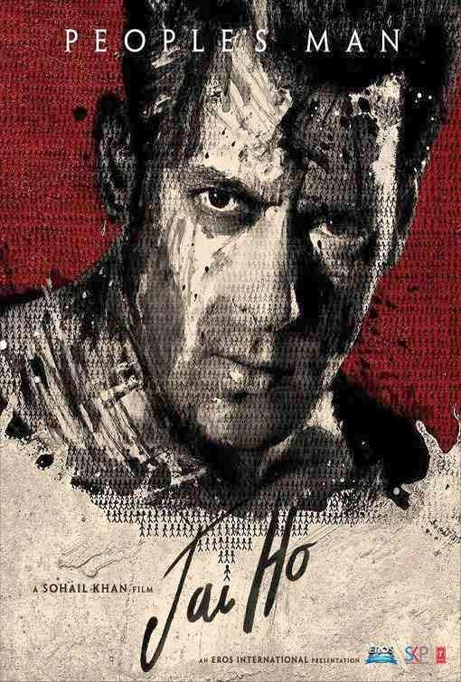 Poster Of Hindi Movie Jai Ho (2014) Free Download Full New Hindi Movie Watch Online At Alldownloads4u.Com