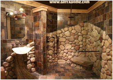 Keramik Lantai Kamar Mandi Motif Batu Alam