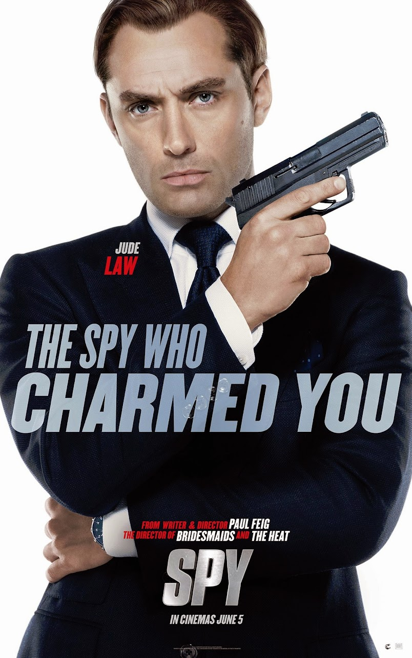 Spy Jude Law Poster