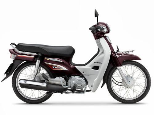 Mẫu sơn xe Honda Super Dream 110
