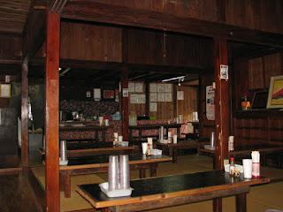 ちゅるげーそば・古民家を改装した店内