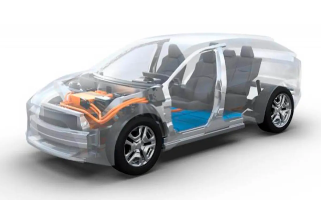 Subaru Evolis