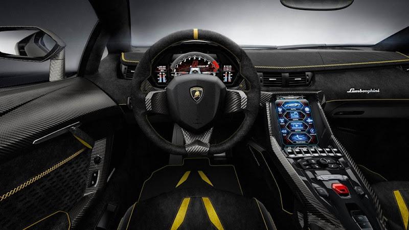 Lamborghini Centenario LP770-4 Interior looks