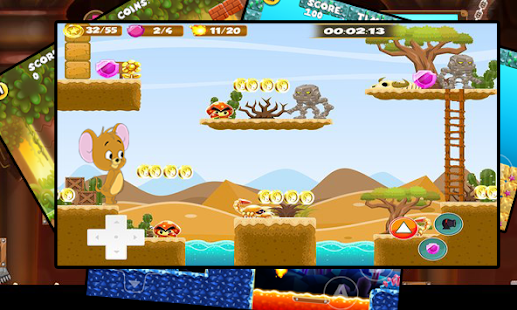 Jeery The Mouse Runner Amazing Adventure - náhled