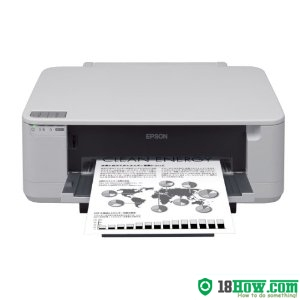 How to Reset Epson PX-K100 flashing lights problem