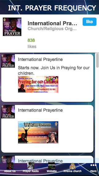 Prayer Frequency- screenshot