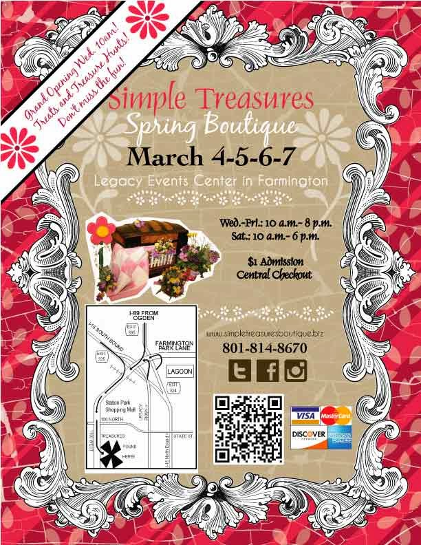Simple Treasures Spring Boutique