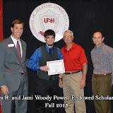 Scholarship Ceremony Fall 2013 - Powell%2Bscholarship.jpg