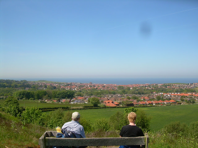 Looking over Sheringham