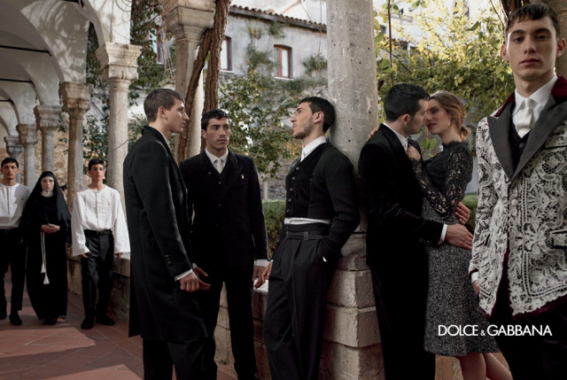 *戲劇性的拍攝手法:Dolce & Gabbana 2013秋冬形象照 9