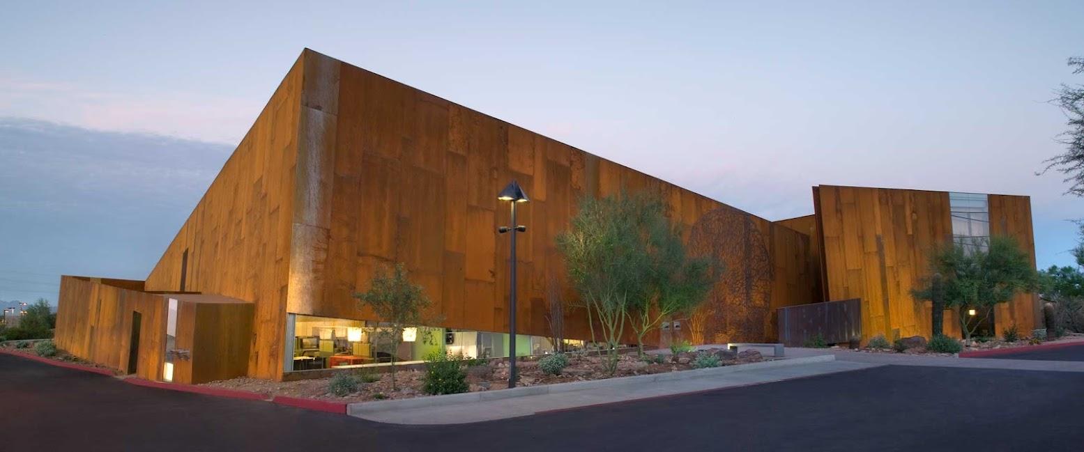 Unusual Architecture: library