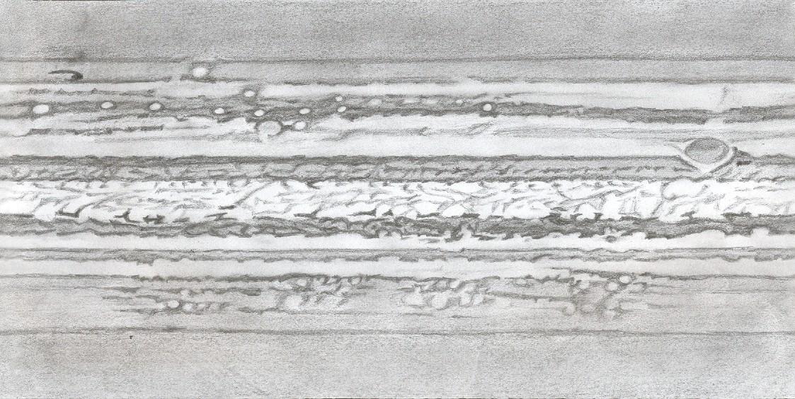"""Photo: Planisphère réalisé """"à la main"""" à partir des dessins d'août 2009. A servi à faire le globe tournant."""