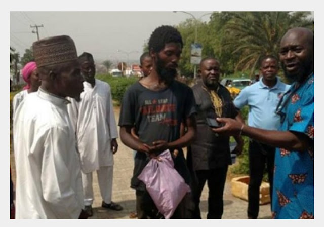 Mad Man Caught With N100m Cheque, Condoms, 4 ATM Cards, Politicians pics