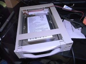 HDDラック(USB-HDDアダプタ)