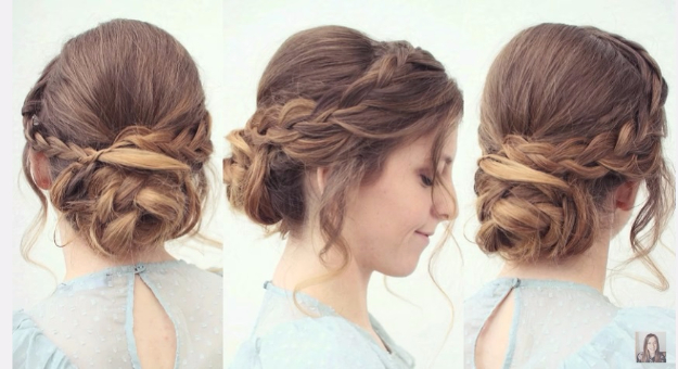 Hairstyles for any wedding -2017 1