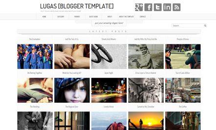 Lugas template blogger