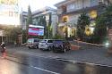 Lokasi seminar Hotel Puri Ayu, Denpasar tampak depan dari Jl. PB Sudirman.