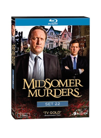 British Detective Drama Series Midsomer Murders - Set 22 on DVD