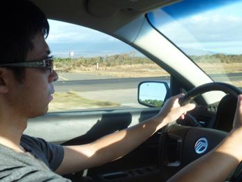 driving maui