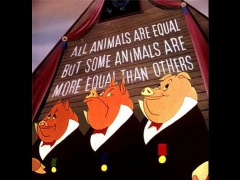an analysis of the animalism versus marxism in the novel animal farm by george orwell
