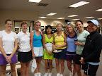 Lyme Shores team: Michelle, Lauren, Barb, Ebet, Linda, Carol, Abi, and Julie