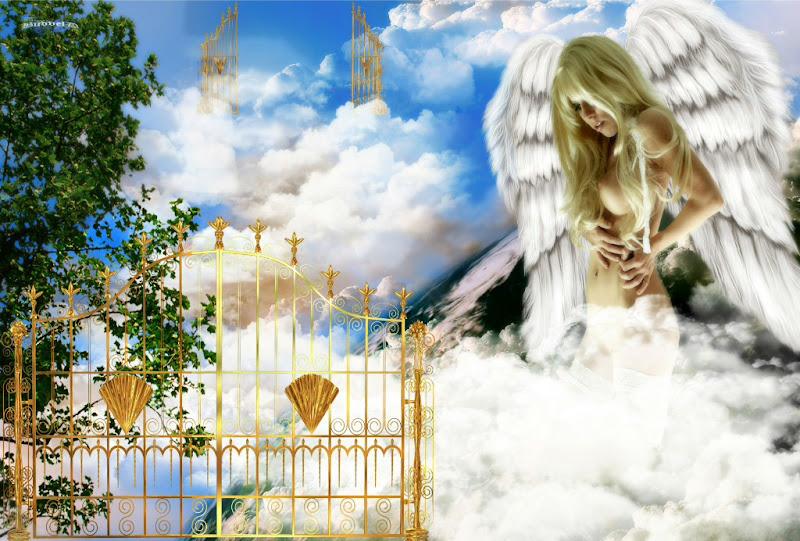 Pleasant Angel Of Goodness, Angels