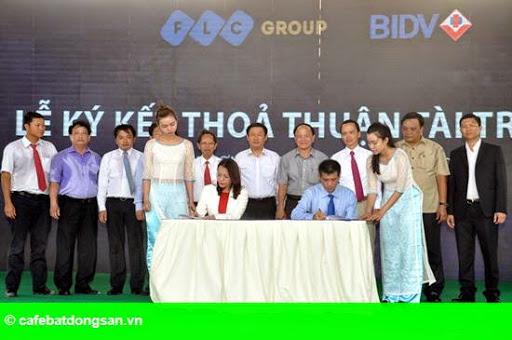 Hình 2: Tập đoàn FLC khởi công khu biệt thự nghỉ dưỡng 7 sao đầu tiên ở Việt Nam