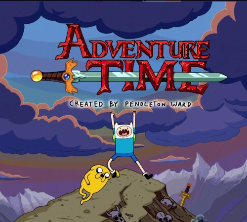 adventure time with finn jake1 500x449 Hora de Aventura