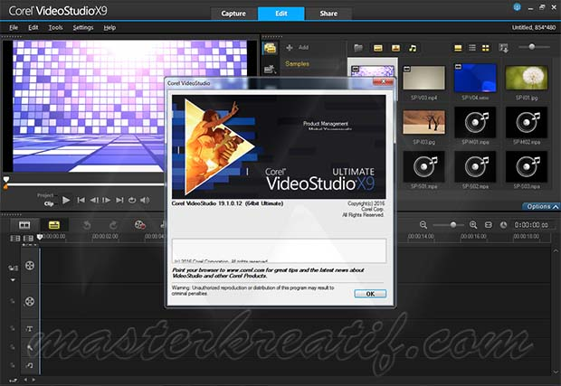 Corel videostudio ultimate x9 full keygen masterkreatif for Corel video studio templates download