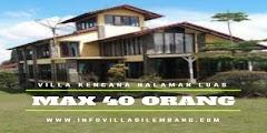 Villa Untuk Rombongan keluarga besar
