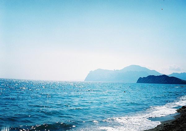 море бирюзовое