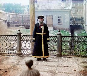 Городской служащий, 1907 год (Сергей Михайлович Прокудин-Горский)