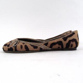 Valentino Garavani Cheetah Print Hide Flats