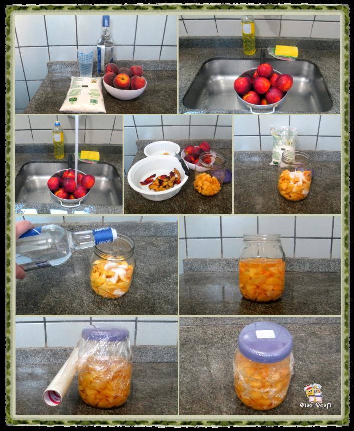 Licor de pêssego 5