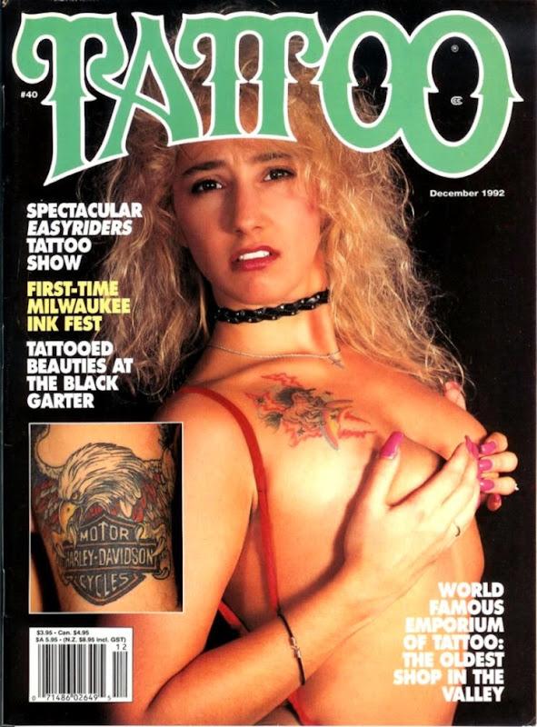 RARE December 1992 Tattoo Magazine  eBay