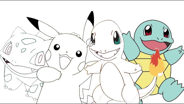 Excellent Pokemon Pikachu Coloring Pages