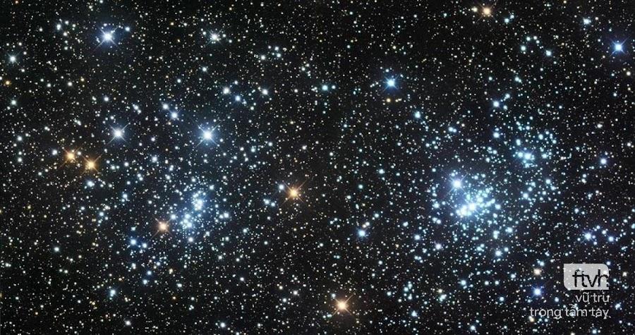 Quan sát Cụm sao đôi của Perseus