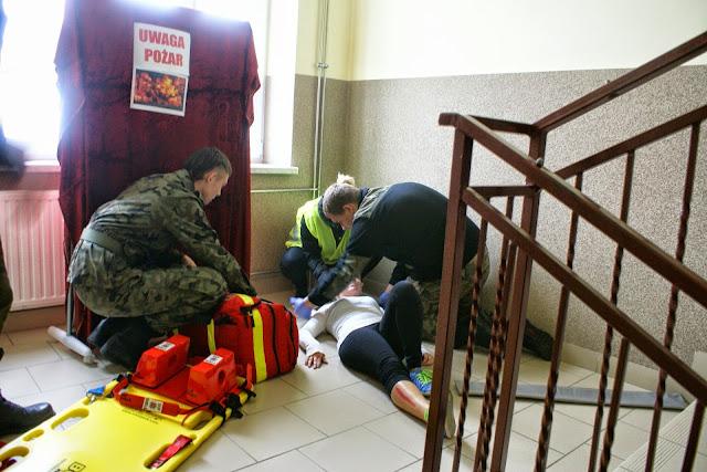 Próbna ewakuacja 2014 - DSC01072.JPG