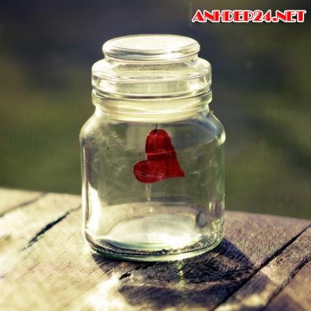 Bộ hình nền trái tim thủy tinh dành cho Ipad
