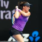 Danka Kovinic in action at the 2016 Australian Open