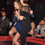 OIC - ENTSIMAGES.COM - Farah Abraham and Emma Willis at the  Celebrity Big Brother - Friday Fake Live  eviction in London 11th September 2015 Photo Mobis Photos/OIC 0203 174 1069
