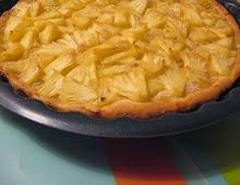 Tarte ananas-coco