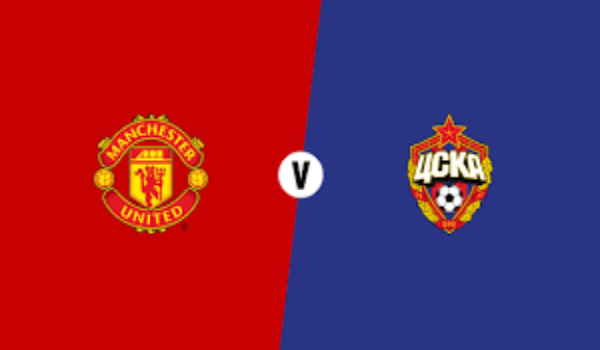 Manchester United vs CSKA Moscow champions league match highlight