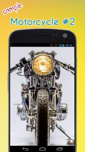 Cool Motorcycle Wallpaper screenshot 2